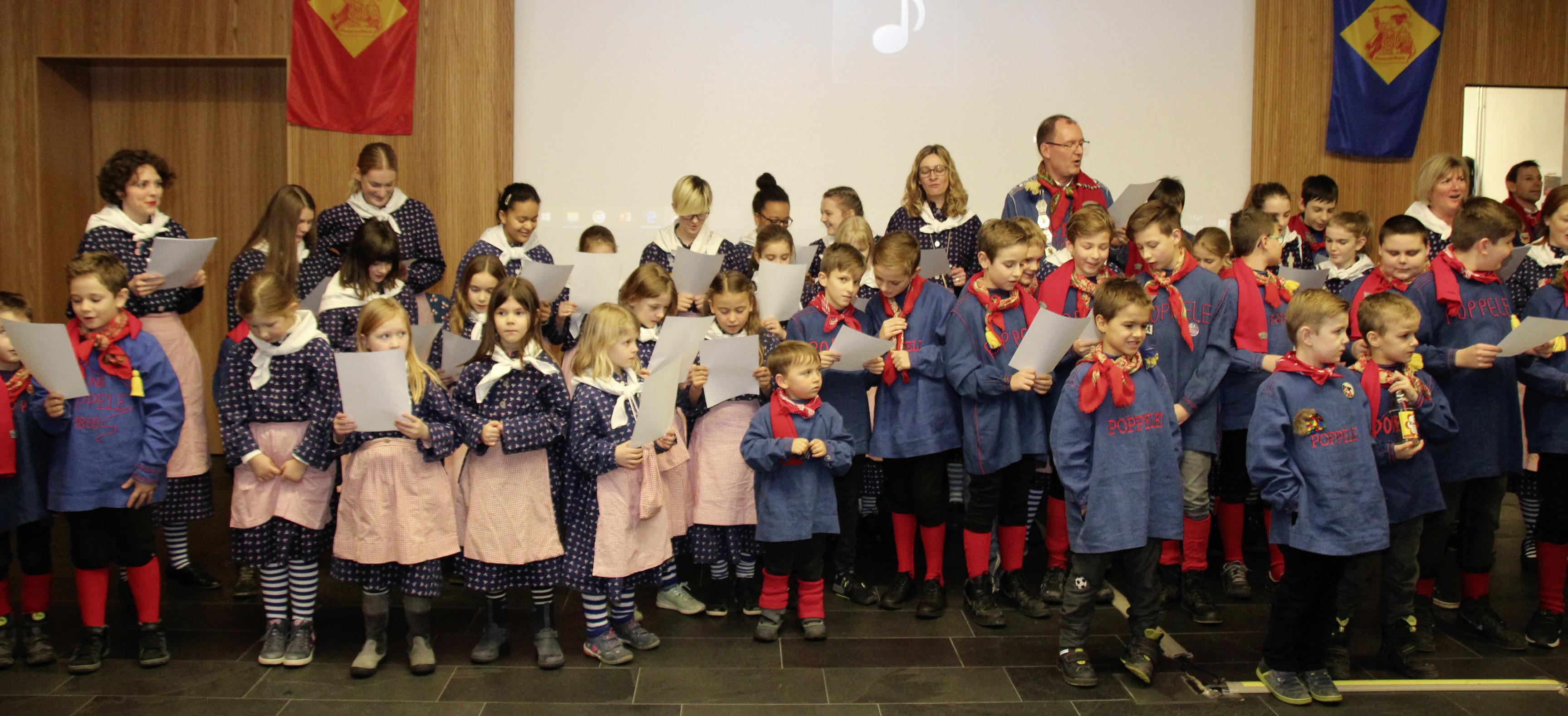 Singener Narren sind stolz auf ihre Poppele-Jugend