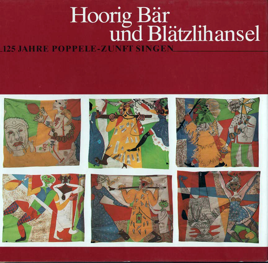 Buch Hoorig Bär und Blätzlihansel