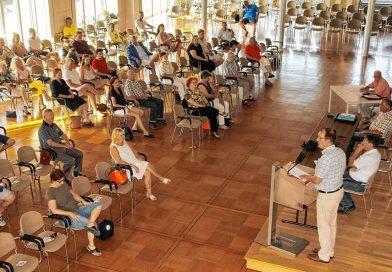 Mitgliederversammlung der Poppele-Zunft im Bürgersaal