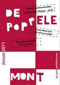De Poppele mont Fasnet 2011