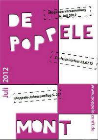 De Poppele mont Juli 2012